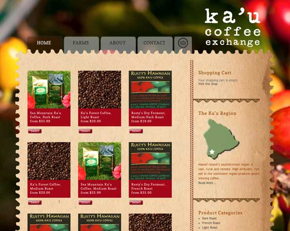 Kau Coffee Exchange